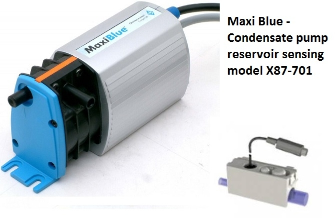 Powered Condensate Pump Trap On Maxi Blue Condensate Pump Wiring