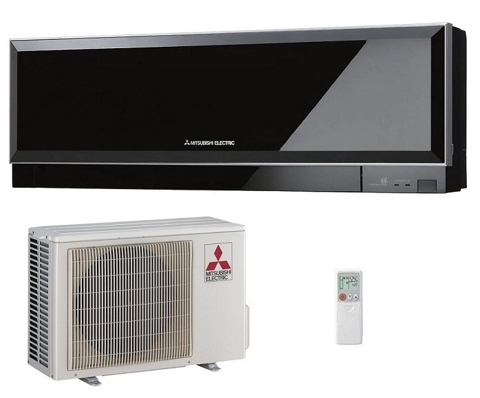 Electric Heat And Air Wall Units : Mitsubishi electric zen msz ef ve air conditioner