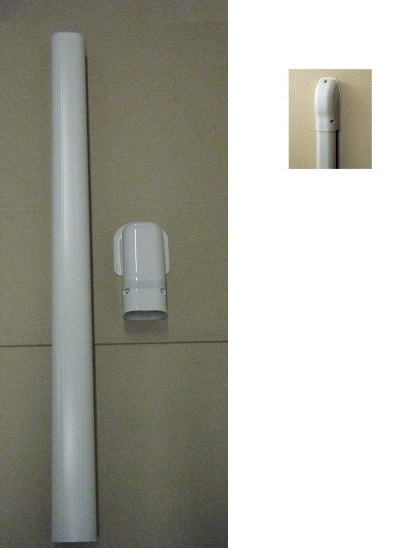 Inoba Trunking Wall Outlet Kit